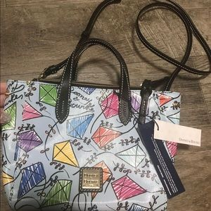 Dooney & Bourke new with tags kite crossbody bag